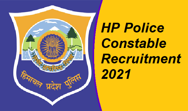 HP Police Recruitment 2021 apply online date